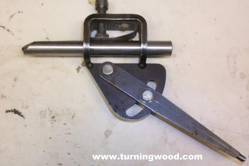 woodturning sharpening jig Grinding The Fingernail Grind On The Oneway Wolverine System